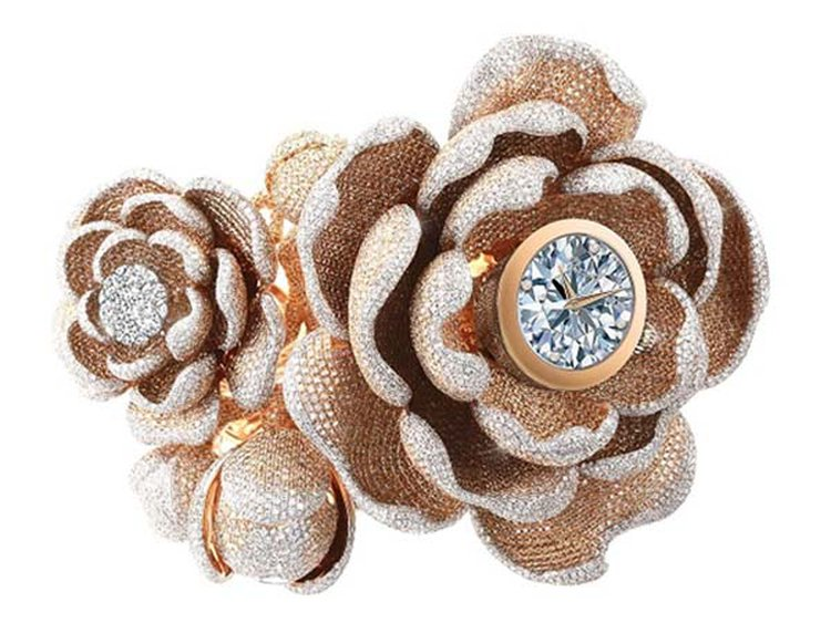 'Mudan' Earns Guinness World Record for the 'Most Diamonds Set on a Watch'